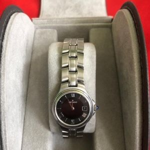 Women's Movado Brushed Stainless Steel Watch